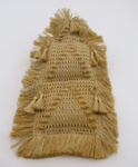 Woven flax letter holder ; 1889; 1900-455-0001