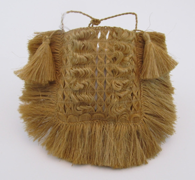 Made by the Rangitikei Maori about 1889. This kete...