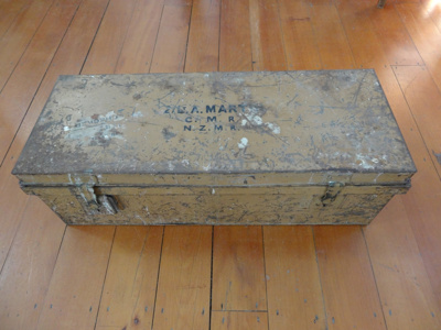 Martin Collection: Footlocker; 1914-1918; 2014-049-029