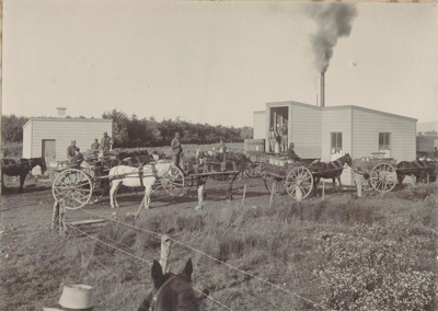 In 1901, forty two Studholme dairymen were deliver...
