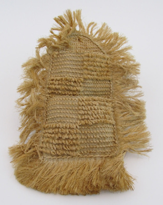 Kete, with 2 pockets; unknown; 2011-013-0001