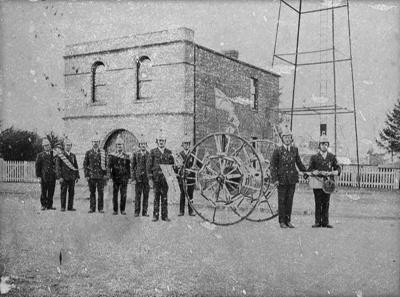 The Waimate Fire Hall was orginally on Shearman St...