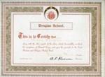 School Certificate of Achievement, 1914; 1914; 2004-052-001