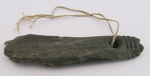 Part of a Pounamu Mere.; Unknown; New Zealand; 067-1991-026-0005