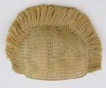 Flax Woven Tea Cosy; 1880-1890; 1954-332-0002