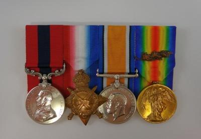Martin Collection: digital image of War Medals; 2002-1026-08564