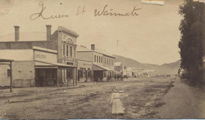 Upper Queen Street looking south, circa 1880.