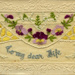 Embroidered Postcard (WWI); 12/1916; 2003-071-00022