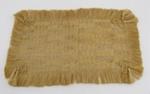 Flax woven mat; 1880-1889; 1954-332-0003