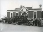 Waimate Fire Brigade Truck; Clarke, C.E   Waimate New Zealand; 1939; 2002-1026-00694