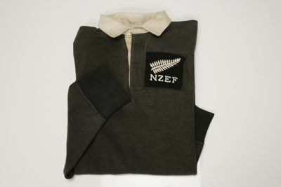 1945-46 'Kiwis' Rugby Jersey; Unknown; Unknown; 91/120/1