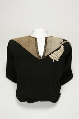 """1905 """"Originals"""" All Blacks Jersey; Manawatu Knitting Mills; 1905; 2005/284/1"""