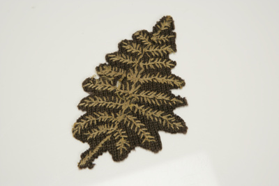 1884 Jersey Badge - Gold Fern; Unknown; 1880s; 2009/108/1