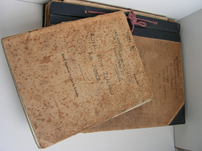 RNZAF Aircraft worker's manual and notebook; 1939