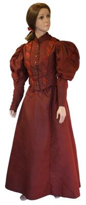 Childs 2 piece gown; 1895; BGT.1560.