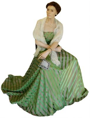Early 1950's Dress; BGR 35