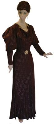 1937 Evening Gown; BGR 85