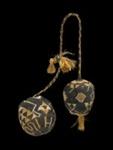 Poi taniko (percussive device), Unknown, 1800-1900, ME003940