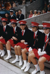 New Zealand Recreation: Marching Girls ; Brake, Brian; 1960s - 1980s; CT.031892