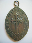 Pendant, 'Girls Friendly Society New Zealand'; Unknown; 1900s; GH013244