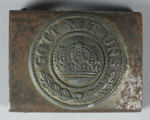 Belt buckle, German, WWI ; Unknown; 1914-1918; GH023367