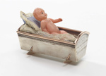 Presentation cradle with doll; Grady, Frank; 10/04/1905; GH011307