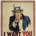 Poster, 'I Want You' ; James Montgomery; 1917; GH016374