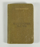 New Testament, 'On Active Service' ; Oxford University press, british and Foreign Bible Society; 1915; GH020960