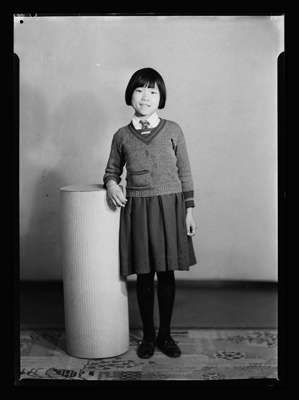Portrait of a Girl; Berry & Co; c1920; B.043672