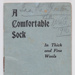 Booklet, 'A Comfortable Sock'; Mrs Jolly, The Evening Post; 1915-1916; GH003681