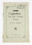 Rule Book, Girls' Friendly Society; Wilson & Horton Ltd; c1912; GH012042