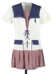 Girl's sailor dress; Junior Model; c1970; GH017486