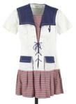 Girl's sailor dress; Junior Model; c1970; GH017486