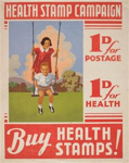 Poster, 'Health Stamp Campaign'; E. V. Paul, Government Printer;  25/04/1905; GH009887
