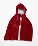 Costume, child's (Little Red Riding Hood Cape) ; O'Hara, Winifred; c1955