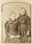 Two girls; Burton Brothers; 1880s; O.034242