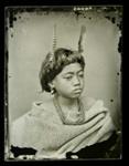 Maori child ; American Photographic Company (Auckland); circa 1865; A.004643