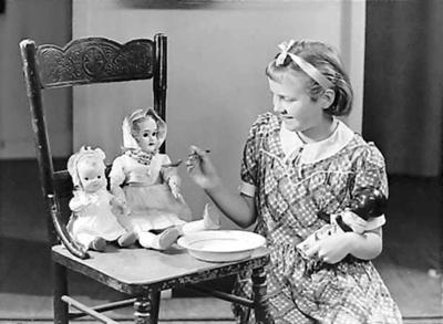 Portrait of a Young Girl; Burt, Gordon; 1924-1965; B.026661