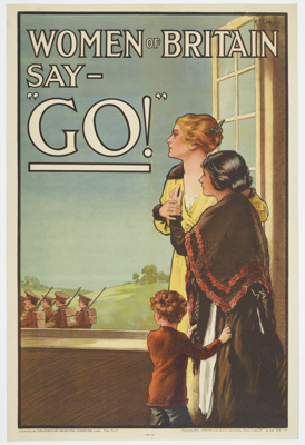 Poster, 'Women of Britain say -