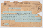 Telegram; First New Zealand Expeditionary Force; 18 October 1918; GH024215