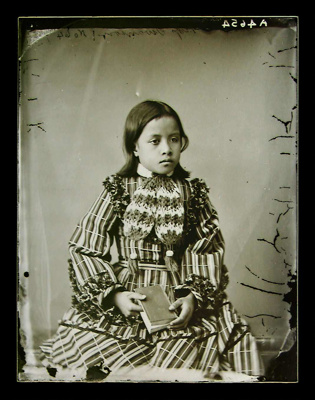 "Maori girl, ""Miss Swanson""