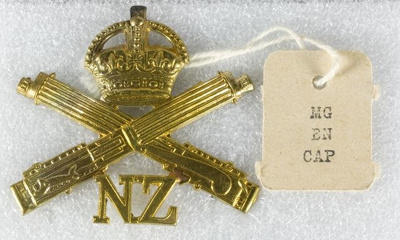 Military Insignia, Machine Gun Corps ; Unknown; 1916-1918; GH017819/6