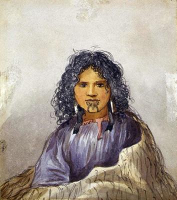 Maori Girl; Robley, Horatio Gordon; 6/02/1905; 1992-0035-825