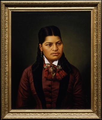 Maori Girl; Lindauer, Gottfried; c1874; 1936-0036-1
