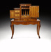 Writing bureau, Seuffert Anton, 1867, PF000206