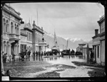 Ballarat Street, Queenstown, NZ, flooded 1878, Hart William P., 1878, C.014174
