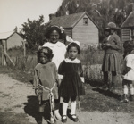 Maori girls at Akaroa
