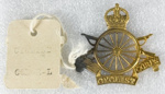 Military Insignia, New Zealand Cyclist Corps ; Unknown; 1914-1918; GH017819/28