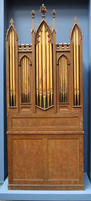 Williams' Barrel Organ, A Buckingham (active 1821-1828), circa 1828, 1898.156