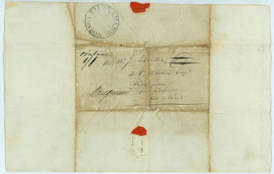 This letter, dated 17 February 1842, is from Mr Jo...